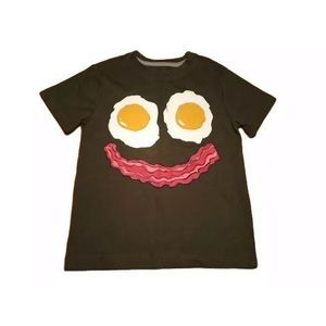 Gymboree Boys Bacon & Eggs Tee New!